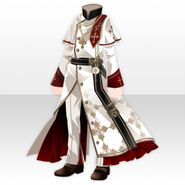 (Tops) Haunted Bishop Cassock ver.A white