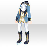(Tops) Starry Skate Ice Prince Style ver.A blue