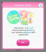 (Club) Donation Done