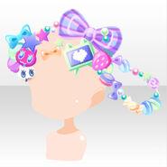 (Head Accessories) CocoPPa Dolls Princess Meryl Hair Accessories ver.A purple