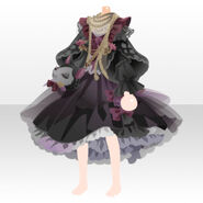(Tops) CocoPPa Dolls Forest Bambi Top ver.A black