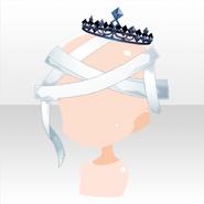 (Head Accessories) Fallen Feather Broken Dark Angel Headdress ver.A white