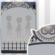 (Show Items) Phantom Iron Fence Decor2 Black ver.1