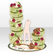 (Avatar Decor) Love Pancake Tower ver.A green