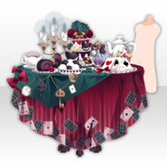 (Avatar Decor) Wonder Tea Party With You ver.A red