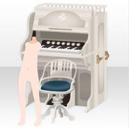 (Avatar Decor) Melodious Organ ver.A white