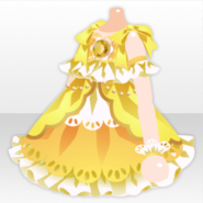 (Top) Jewelry Princess Sulfur Frill Dress ver.A yellow
