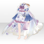 (Tops) Angelic Magical Feather Dress ver.A blue
