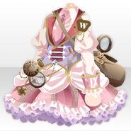 (Tops) Assistant Suit Vest Dress ver.A pink