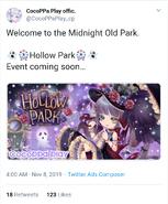 (Twitter) Hollow Park