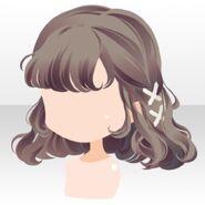 (Hairstyle) Hydrangea Braided Hair ver.A brown