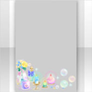 (Show Items) Colorful Bubbles and Candles Decor1 ver.1