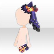 (Head Accessories) Mini Hat and Lollipop ver.A purple