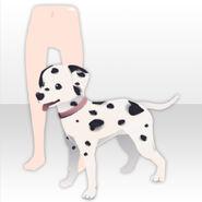(Shoes) Dalmatian Snuggle Up ver.A pink