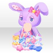 (Tops) With DayDream Big Rabbit ver.A purple