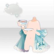(Hand Accessories) Tea Party Herbal Tea & Shawl ver.A blue