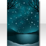 (Wallpaper Profile) Starry Skate Twinkle Stardust Wallpaper ver.A green