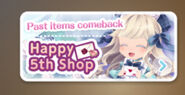 (Sub-Banner) Happy 5th Shop