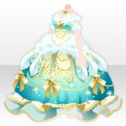 (Tops) Starry Sky Cygnus Dress ver.A green