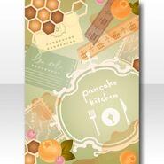 (Wallpaper Profile) Love Pancake Kitchen Wallpaper ver.A green
