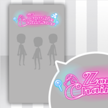 (Show Items) Glittery Zombies Neon Sign Decor2 ver.1