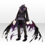 (Tops) Underworld Classic Wing Style ver.A purple