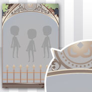 (Show Items) Phantom Iron Fence Decor2 White ver.1