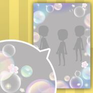 (Show Items) Rising Up Colourful Bubbles Decor2 ver.1