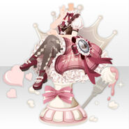 (Tops) Let's Play Chess with Chocolat Queen ver.A pink