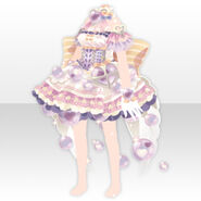 (Tops) Angelic Magical Heart Dress ver.A pink