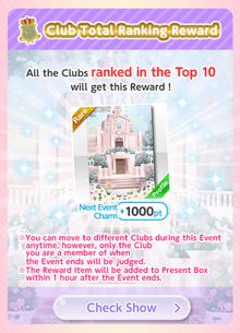 (Bonus) Lolita Paradise - Club Ranking Bonus