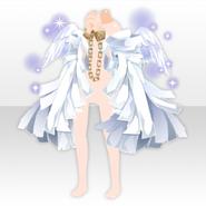 (Outerwear) Fallen Feather Angel Restraint Coat ver.A white