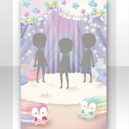 (Show Items) Fluffy Dreaming Night Room Stage White ver.1