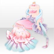(Tops) Deep-Sea Dreamy Cute Mermaid Flair Dress ver.A pink