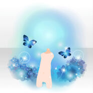 (Avatar Decor) Shining Jewel Butterfly ver.A blue