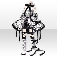 (Tops) Lavshuca Demon Girl Dress ver.A white