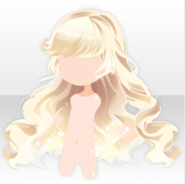 (Hairstyle) Night Sky Shiny Long Hair ver.A yellow