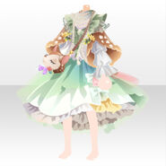 (Tops) CocoPPa Dolls Forest Bambi Top ver.A green
