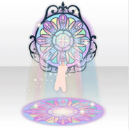 (Avatar Decor) Shiny Stained Glass Illuminated by Stained Glass ver.A blue