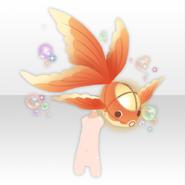(Body Accessories) Mononoke Waving Goldfish Lantern ver.A orange