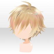 (Hairstyle) Floracion Servant Short Hair ver.A yellow