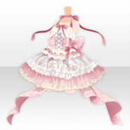 (Tops) Peluche Ballerina Dress ver.A pink