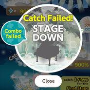 (Bonus Stage) Sing! Sing! Sing! - Fail