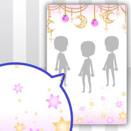 (Show Items) Star Memory Curtain of Night Sky Decor1 ver.1