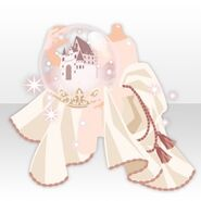 (Hand Accessories) Snow Dome in Hand ver.A white