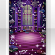 (Show Items) Wizardly School Magical Library Stage ver.1