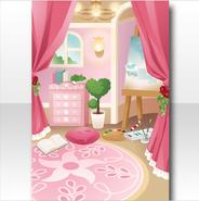 (Wallpaper Profile) Secret Princess Room Wallpaper ver.A pink
