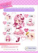 (Momo's Garapon Lottery Machine) Momo's Pink Days Promo