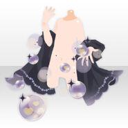 (Hand Accessories) Magical Heart Shawl ver.A black