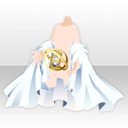 (Hand Accessories) Star Memory Sandglass and Cape ver.A white